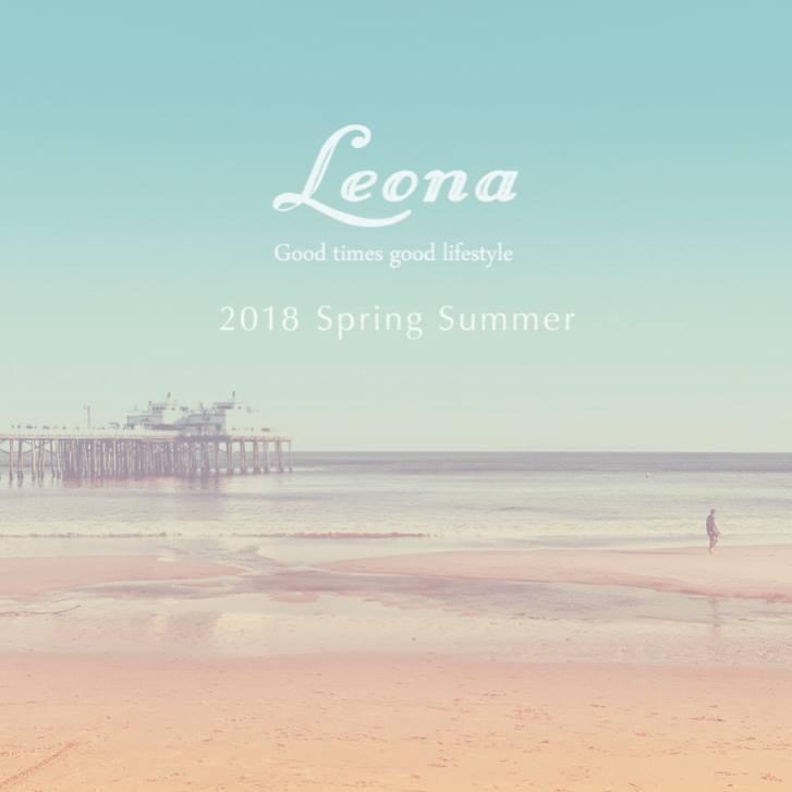 11/3(祝)〜6(月) Leona 2018 Spring Summer @atlanticcoffeestand にて出店させていただきます。